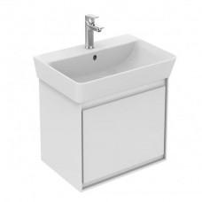 Ideal Standard Connect Air skrinka pod umývadlo Cube 50 cm biela lesklá/biela matná E0842B2