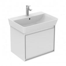 Ideal Standard Connect Air skrinka pod umývadlo Cube 55 cm biela lesklá/biela matná E0844B2