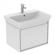 Ideal Standard Connect Air skrinka pod umývadlo Cube 60 cm biela lesklá/biela matná E0846B2