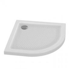 Connect sprchová vanička keramická štvrťkruh 90x90 cm, T2669AA