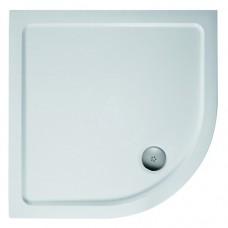 Ideal Standard Simplicity Stone 4 cm sprchová vanička štvrťkruhová z liateho mramoru