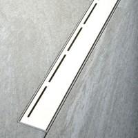 Polysan Road sprchový žľab s roštom 39-85 cm