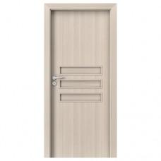 Porta Fit E.0 dvere bezfalcové CPL orech bielený