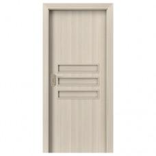 Porta Fit E.0 dvere bezfalcové posuvné CPL orech bielený