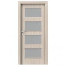 Porta Fit H.4 dvere bezfalcové CPL orech bielený