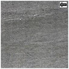 Rako Quarzit Outdoor 60x60 cm tmavo šedá dlažba