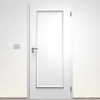 Sapeli Bergamo Komfort dvere poldrážkové model 10 80 P farba biela hladká