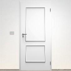 Sapeli Bergamo Komfort dvere poldrážkové model 20 farba biela hladká