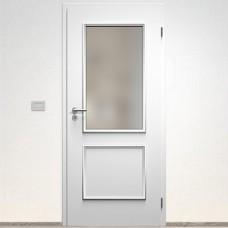 Sapeli Bergamo Komfort dvere poldrážkové model 30 farba biela hladká