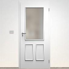 Sapeli Bergamo Komfort dvere poldrážkové model 37 farba biela hladká