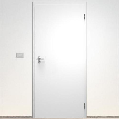 Sapeli Elegant Komfort dvere poldrážkové model 10 CPL laminát farba biela