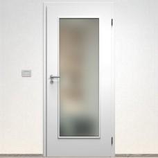 Sapeli Elegant Komfort dvere poldrážkové model 40 CPL laminát farba biela