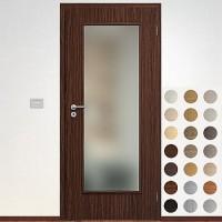 Sapeli Elegant Komfort dvere poldrážkové model 40 CPL laminát štruktúr