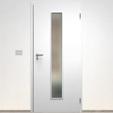 Sapeli Elegant Komfort dvere poldrážkové model 50 CPL laminát farba biela