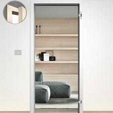 Sapeli zárubňa Normal Komfort pre bezpoldrážkové dvere 70cm Ľ farba biela hladká