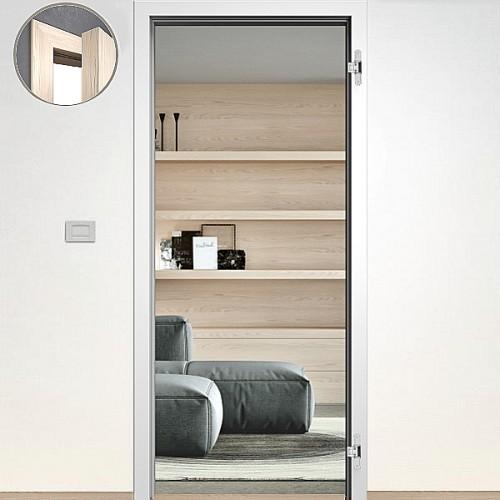 Sapeli zárubňa Normal Komfort pre bezpoldrážkové dvere 80cm Ľ farba biela hladká