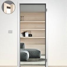 Sapeli zárubňa Normal Komfort pre poldrážkové dvere 80cm Ľ CPL biela hladká