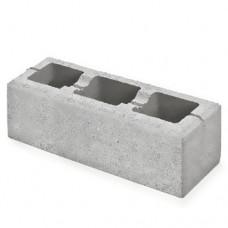 Semmelrock Rivago plotový systém základný prvok veľký 60x20x16 cm sivý