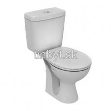 Simplicity WC kombi 67x36 cm, rovný odpad, E8783