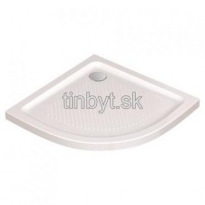 Connect sprchová vanička keramická štvrťkruh 80x80 cm, T2667