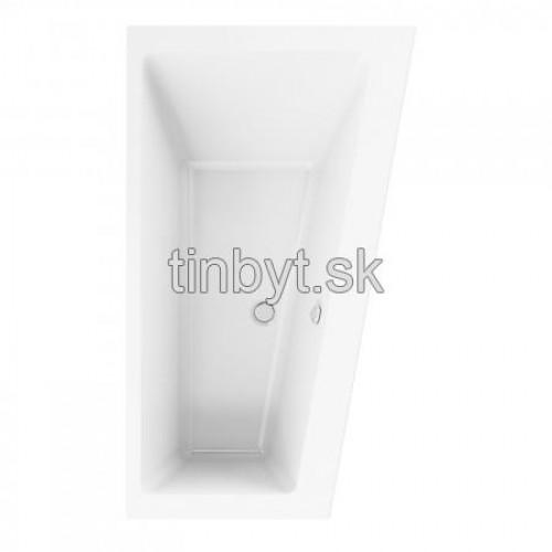 Strada vaňa akrylátová asymetrická ľavá 170x100 cm, K2611