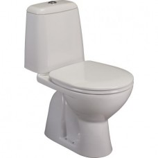 Eurovit | Sirius WC kombi 61x35 cm, spodný odpad, vrátane WC sedadla, W9028