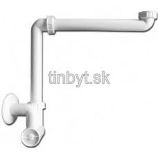 HL umývadlový/nábytkový zápachový uzáver (polsifón), HL137/40